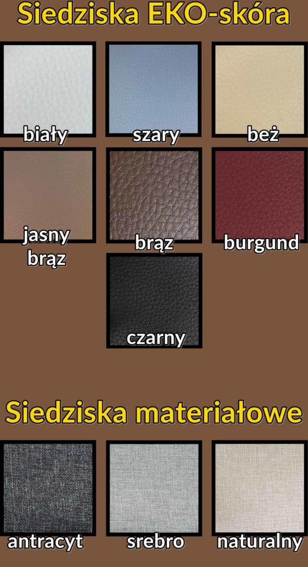 kolory siedziska do szafek na buty