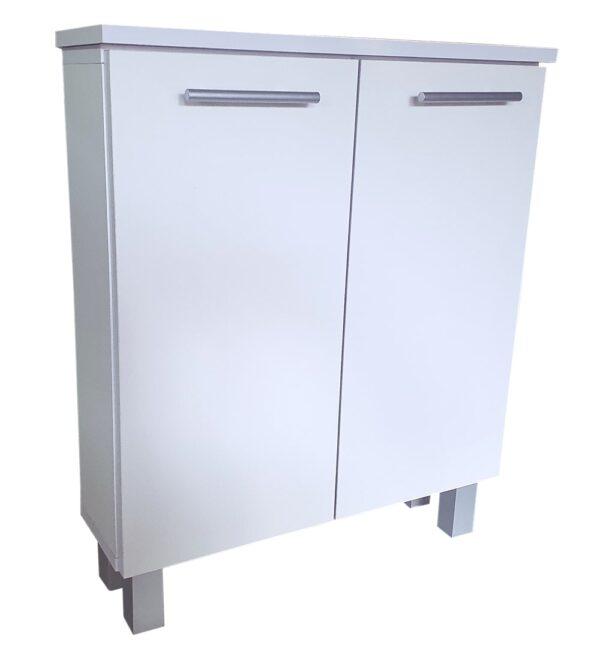 szafka łazienkowa biała stojąca